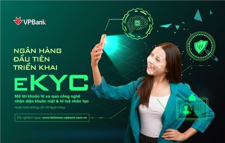 VPBank is the first unit in the eKYC application for this industry